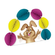Beistle 40653 Easter Bunny Pop-Over Centrepiece