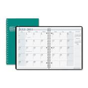 House Of Doolittle HOD26309 Academic Monthly Planner 8 .50 X 11 Bright Green Wirebound