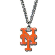 Officially Licenced MLB Team Chain Logo Necklace New York Mets