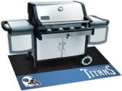 Fanmats 12204 NFL - Tennessee Titans Grill Mat 70cm . x 110cm .