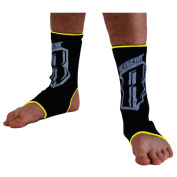 Revgear 939000 BK - YL Revgear Ankle Wraps - Black with Yellow