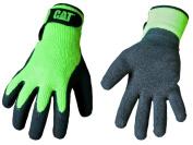 Cat Gloves Rainwear Boss Mfg Jumbo Fluorescent Green Latex Coated Knit Gloves