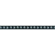 Offray 8767 3-8-5 Paw Grosgrain Ribbon 3-20cm . 3.7m-Black-White