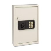 Electronic Key Safe, 48-Key, Steel, Sand, 11 3/4 x 4 x 17 3/8