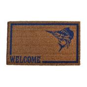 Imports Decor 518PVC Swordfish Doormat