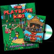 Playdate Kids Publishing 978-1933721-14-9 Playdate Kids DVD & Adventure Book