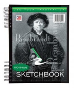 Roaring Spring Paper Products 53101 Sketch Book with Pocket - 100 Sheets Per Book