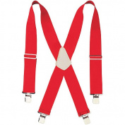 Custom Leathercraft 5.1cm . Wide Red Work Suspenders 110RED