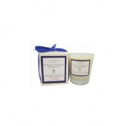 Aroma Paws 230 Memorial Candle- 12 Oz. - Cross-Blue