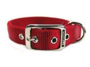 Hamilton Double Thck Nyln Dlx Dg Collar Red 1 X20 - DD
