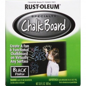 Rustoleum 0.9l Black Chalk Board Paint 206540