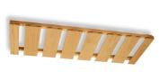 Hardware Distributors NPSR 36 M 36 in. x 12 in. Wood Stemware Rack - Maple
