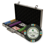 Brybelly Holdings PCS-3302 300Ct Claysmith Gaming Bluff Canyon Chip Set in Aluminium