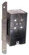 Hubbel Electric Raco Single Gang Steel Handy Box With A Bracket 0671