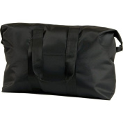Roberto Amee Jumbo Duffle Bag (Pack of 20) - Black - 170-JTBBB