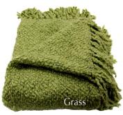 Woven Workz 018-043 Marion Throw - Grass