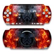 DecalGirl PSP3-FLWRFIRE PSP 3000 Skin - Flower Of Fire