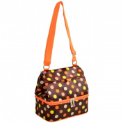 Picnic at Ascot 529-JD Lunch Cooler and Container -Julia Dot