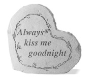 Kay Berry 08507 Small Heart- Always Kiss Me Goodnight...
