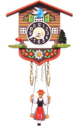 Alexander Taron 129SQ Girl with Swing Quartz Wall Clock