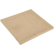 Canvas Corp Stretched Burlap, Natural 30cm x 30cm