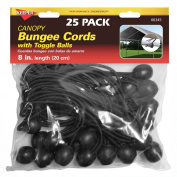 Hampton Products Keeper 06345 20.3cm . Canopy Bungee Cords With Toggle Balls