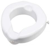 Carex Health Brands B31300 Safe Lock Raised Toilet Seat