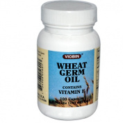 Viobin 0519801 Wheat Germ Oil - 340 mg - 100 Capsules