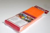 Medtech Wristbands T030010046P0500 500 Supertek .190cm . Solid Neon Orange