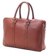Clava SF-4 Slim Top Handle Briefcase - Bridle Black