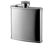 Aeropen International FK-505R 150ml Shiny Rimmed Stainless Steel Flask