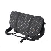 Blancho Bedding MB-L8028-BLACK Lucky Star - Black Multi-Purposes Messenger Bag / Shoulder Bag