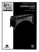 Alfred 00-PERC9502 Music of the Masters- Volume II- Marimba Duets - Music Book