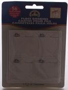 DMC 72403 Cardboard Floss Bobbins-56-Pkg