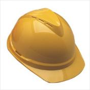 MSA 454-10034020 V-Gard Vented Yellow Hard Cap 4 Point Susp.