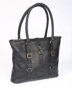 Claire Chase 798E-black New Ladies Computer Handbag - Black