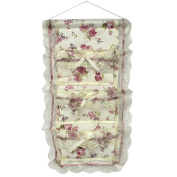 Blancho Bedding YF-WH082 Rose and Bud Silk Wall Hanging/ Wall Organizers / Wall Baskets / Hanging Baskets