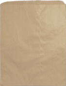 Bags & Bows by Deluxe 54-1215-8 Kraft Paper Merchandise Bags - Case of 1000