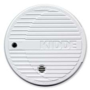 Kidde Fire and Safety KID440374 Smoke Alarm- Flashing LED- 9V Battery Included- White