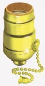 Leviton Polished Brass Pull Chain Lamp Socket Interior Mechanism 014-19980-PG