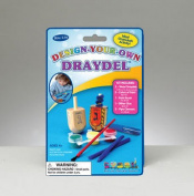 Rite Lite TYK-DAD Design-A-Draydel Kit - Decorate 2 Large Wood Draydels