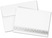 Image Shop 20103856 Silver Filigree Note Card Kit