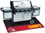Fanmats 12189 NFL - Kansas City Chiefs Grill Mat 70cm . x 110cm .