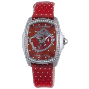 Hello Kitty CT. 7896LS-41 Stainless Steel Red Watch