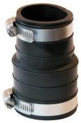 Fernco Inc 1-.50in. X 1-.50in. Rubber Flexible Socket Coupling Repair Fitting P1060-