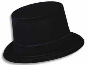 Beistle 66634 Black Velour Topper, 24 Hats Per Package