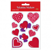 Beistle 74003 Valentine Stickers