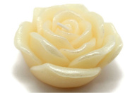 Zest Candle CFZ-071 3 in. Ivory Rose Floating Candles -12pc-Box