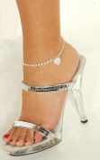 Costumes For All Occasions Moj1315 Anklet Rhinestone Heart