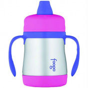 Foogo Bs500Pk003 Leak Proof Sippy Cup With Handles - Pink